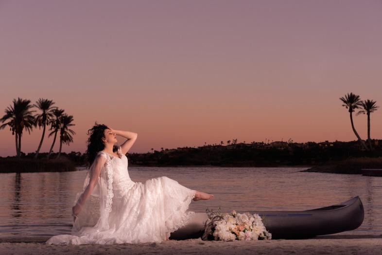 2019 Spring Spectacular Bride Ella Gagiano Studios, Reflection Bay Las Vegas