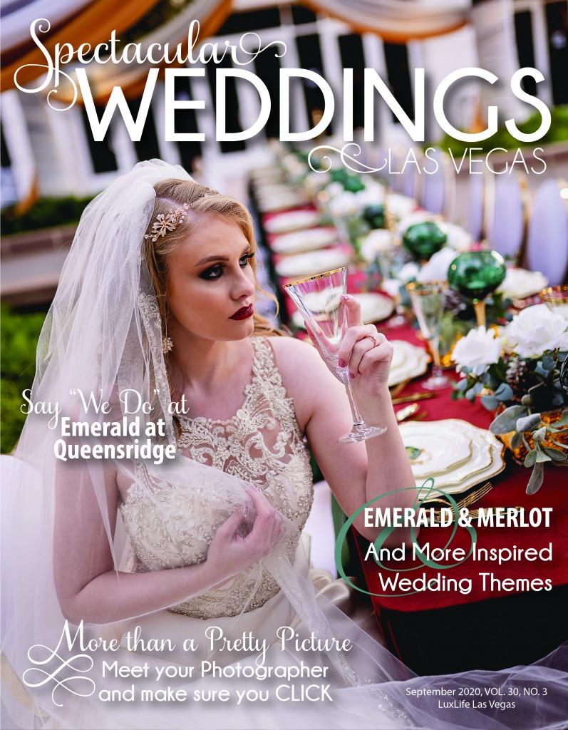 Bride at wedding reception Bridal Spectacular