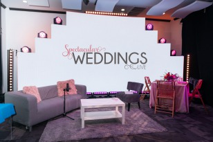 Spectacular Weddings Live! Livestream Wedding Planning Event Studio