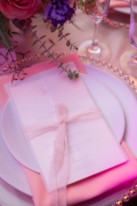 menu card by paper and home for spectacular weddings live by bridal spectacular