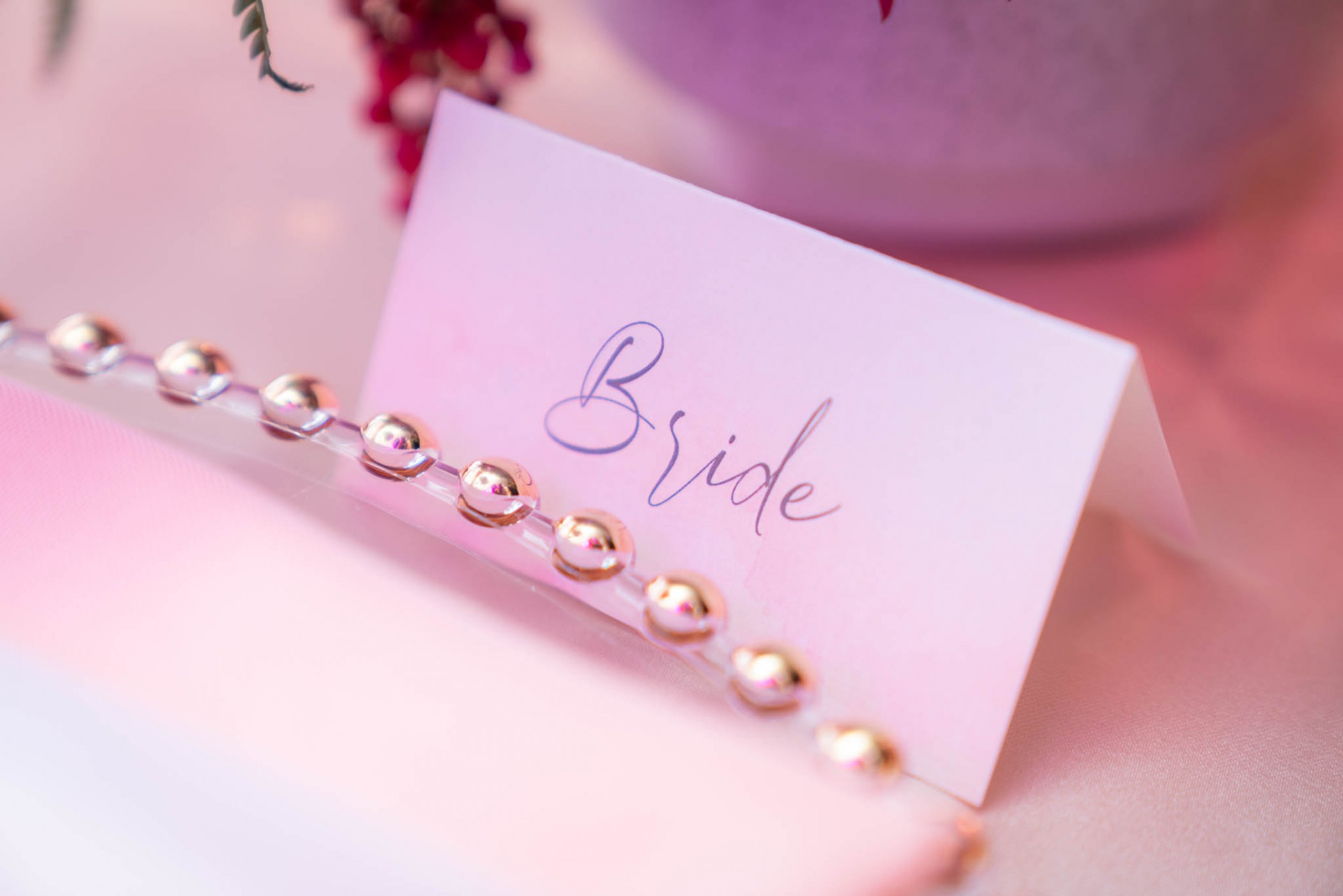bride place card by paper and home on spectacular weddings live by bridal spectacular
