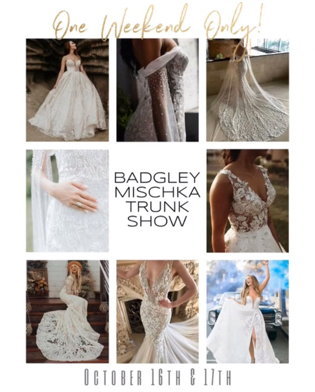 Badgley Mischka Trunk Show