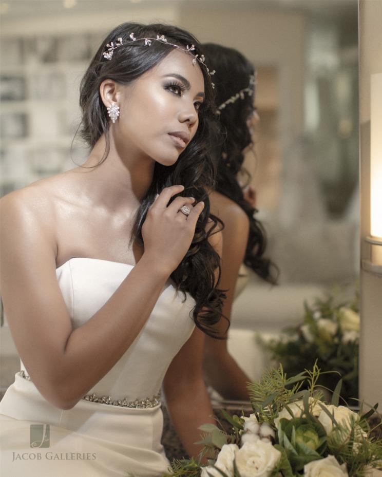Bride beauty shot at Emerald at Queensridge
