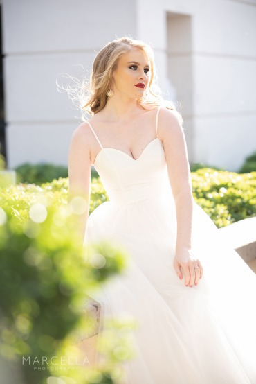 Chic edgy bride at Emerald at Queensridge
