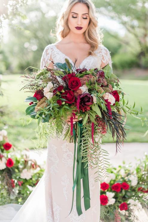 Festive Winter Bouquet
