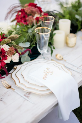 Festive Inspiration for your winter wedding