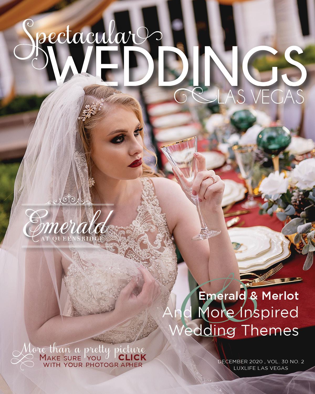 Spectacular Weddings of Las Vegas magazine cover