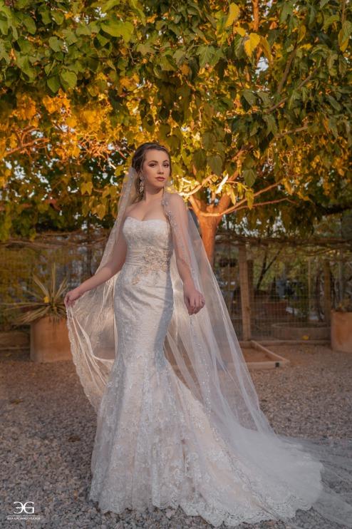 Elegant bride at The Farm Las Vegas