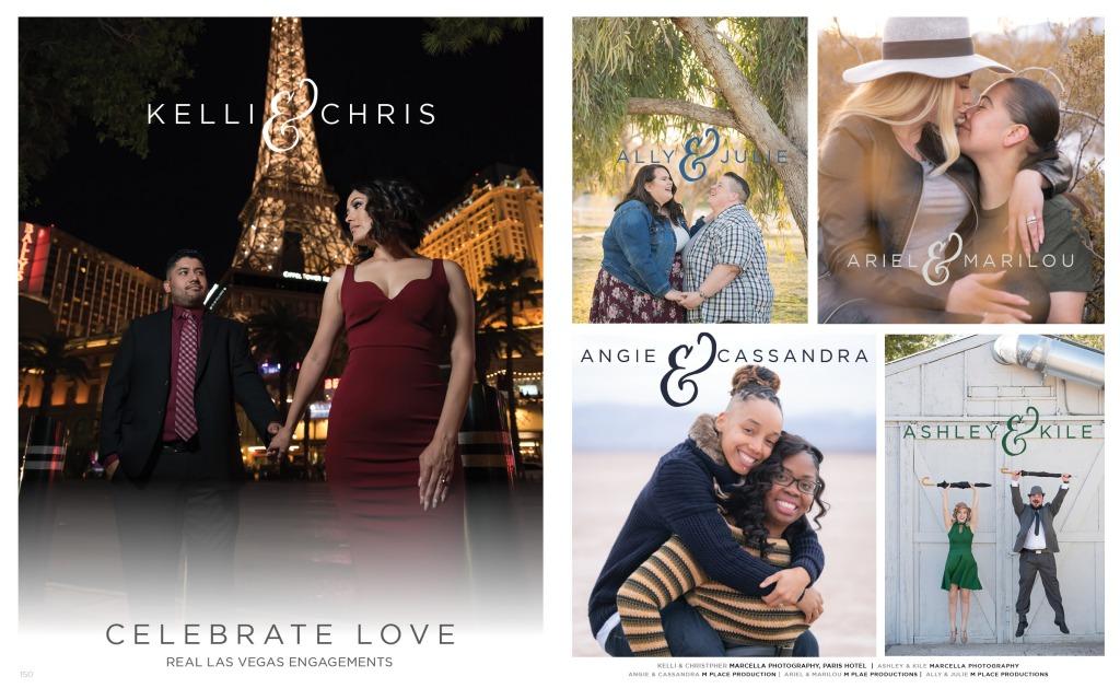 Las Vegas Engagement Photographs. same sex engagement photos as well