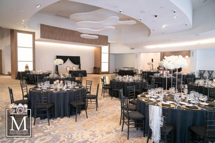 Reception at a elegant Las Vegas Wedding