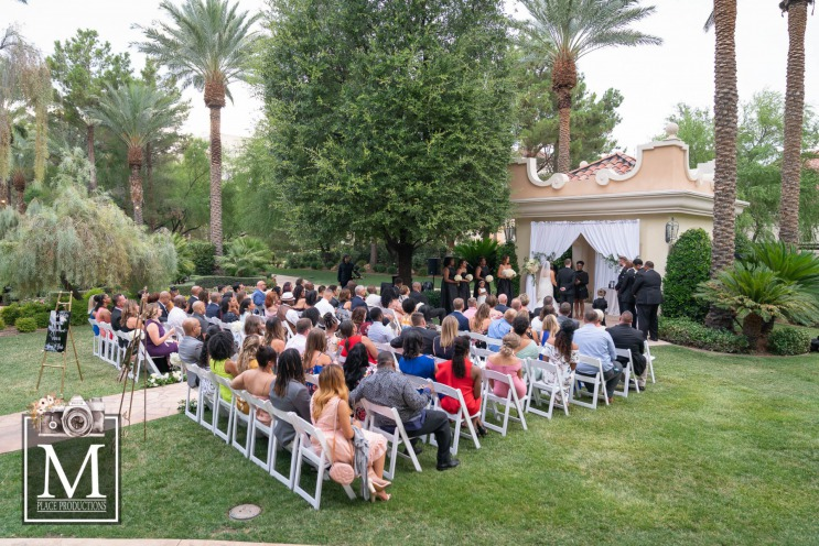 Elegant Las Vegas wedding