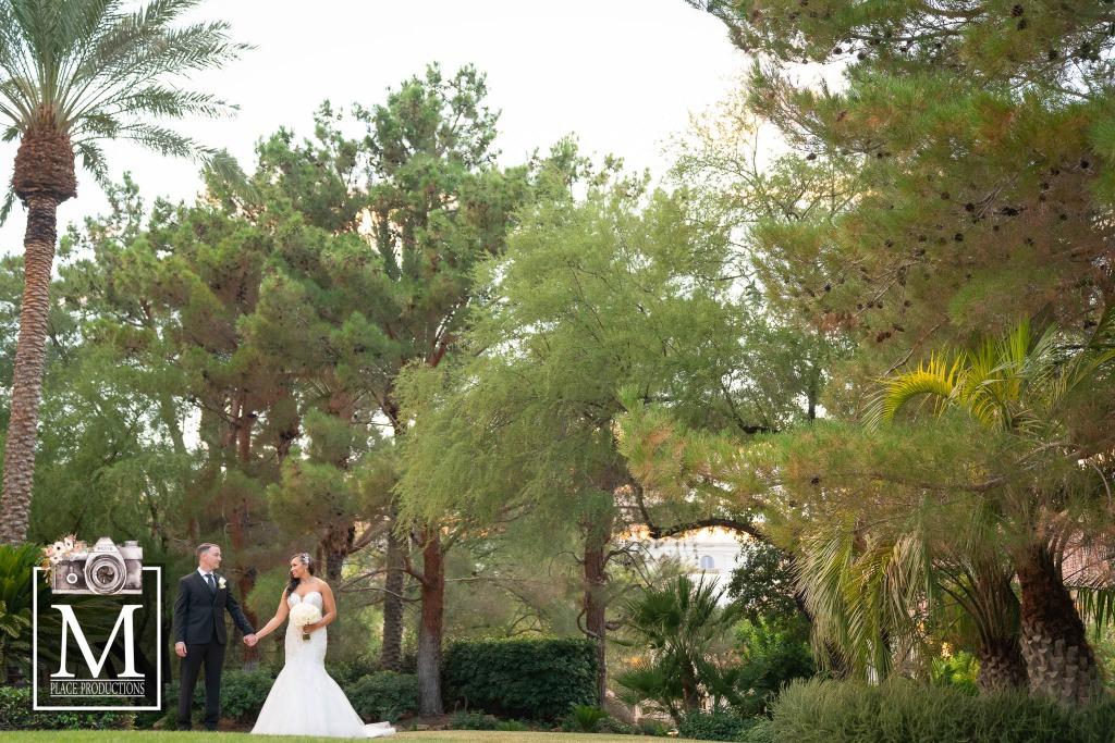 Heartfelt Black Tie Las Vegas Wedding