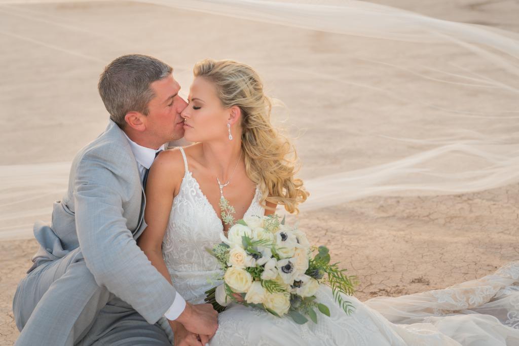 Desert Las Vegas Real Wedding