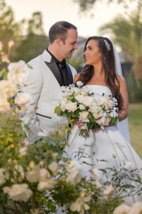 """Couple says """"I Do"""" at the Lotus House"""