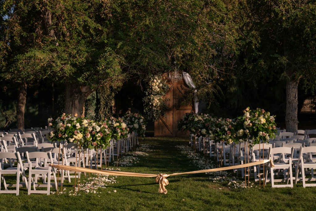 Inspiring Las Vegas Garden Wedding