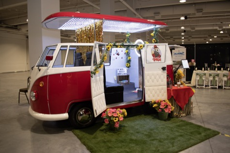 VW van photobus by Smash booth Las Vegas Photo Booths