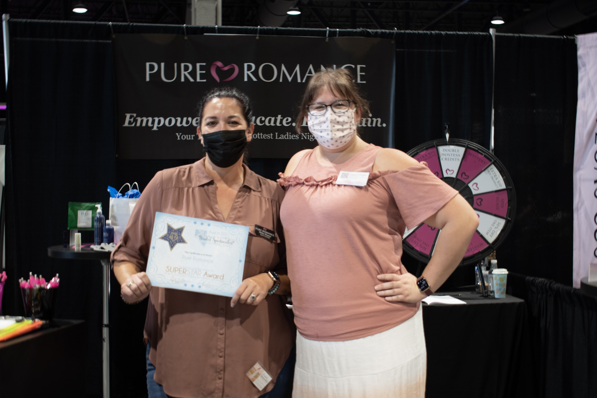 Pure Romance by Melisa at the Bridal Spectacular Las Vegas