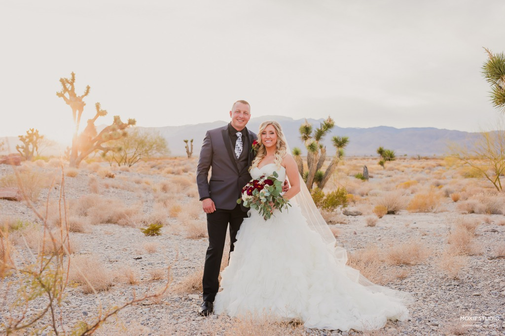 Wedding at Paiute Golf Resort