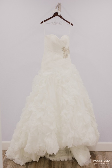Wedding Gown worn at Paiute