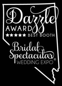 Dazzle award best booth prize at the bridal spectacular